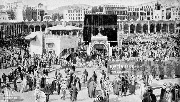 Mecca's great mosque Mecca Saudi Arabia 1922 From Peoples of All Nations Their Life Today and the Story of Their Past volume IV Georgia to Italy...