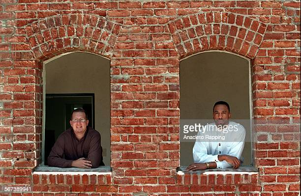 MECentral10507ARMichael Betz Project Director of the Vernon Central Community History Exhibit and Anthony Scott Executive Director of the Dunbar...