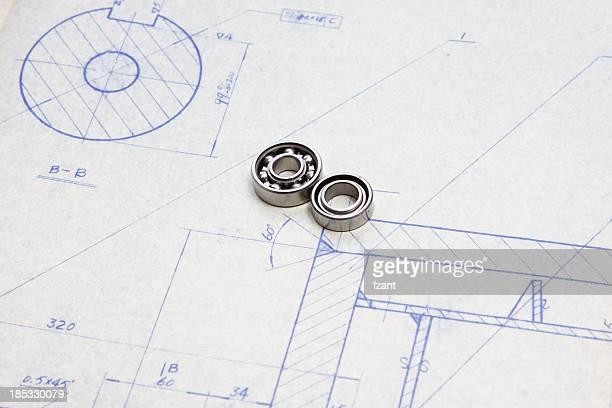 Mechanic blueprint detail