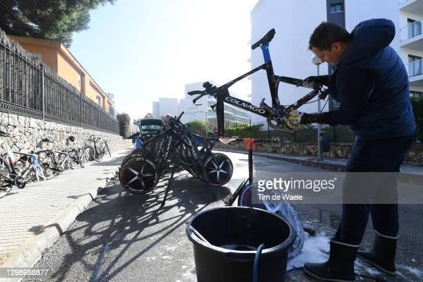 Mechanic / Colnago Bike / Washing / during the Team Gazprom - RusVelo 2021 - Pro Continental Team, Training Camp / @RusveloTeam / on January 22, 2021...