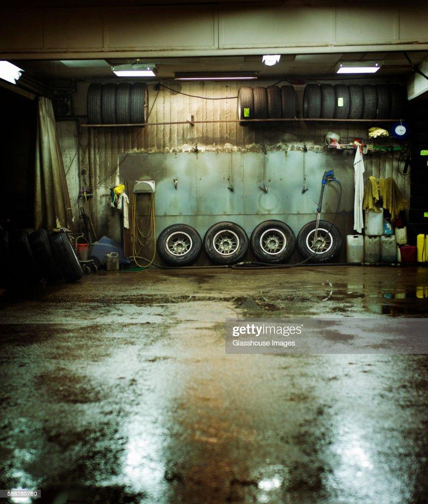 Amazing Mechanic Garage : Stock Photo