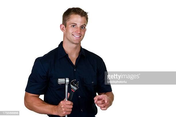 Mechanic holding tools