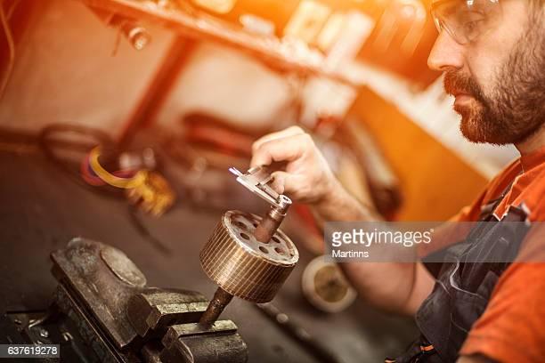 Mechaniker in Workshops