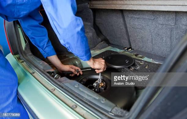 Auto Mechaniker und Installation LPG