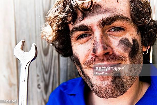 Mechanic portrait