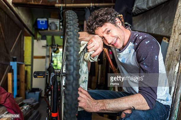 メカニックワイピング「sweat (スウェット)」で、お仕事中には、自転車額