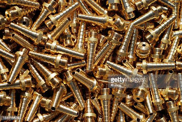 Mechanical industry metal parts background