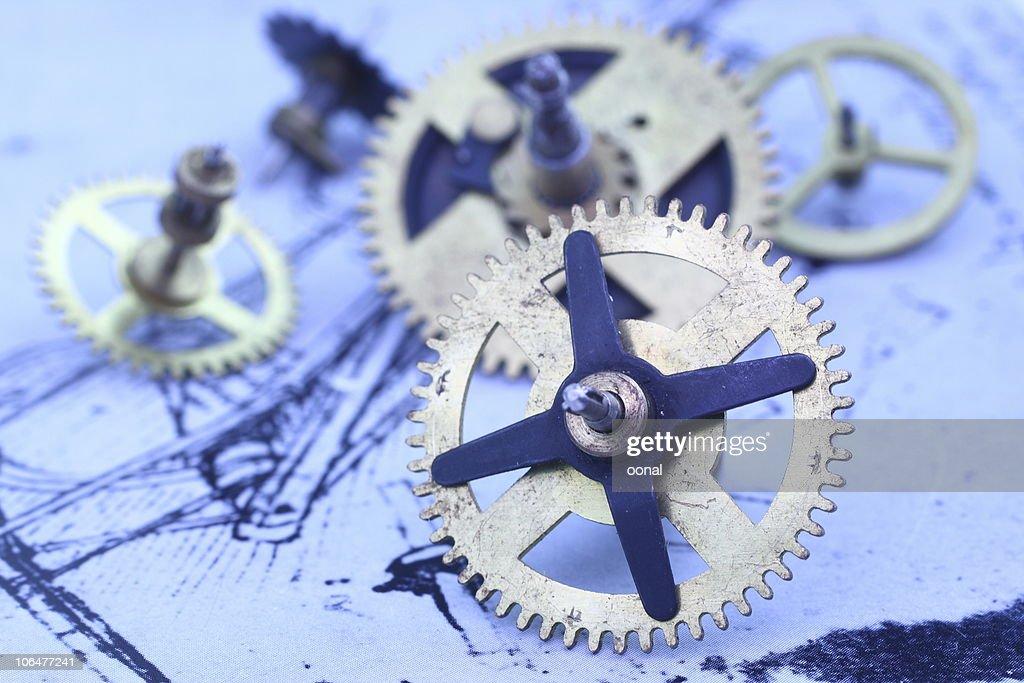 Mechanical parts : Stock Photo