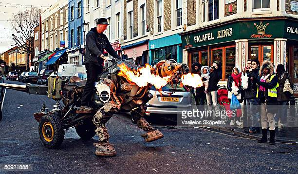 Mechanical RobotDragon vehicle Notting Hill