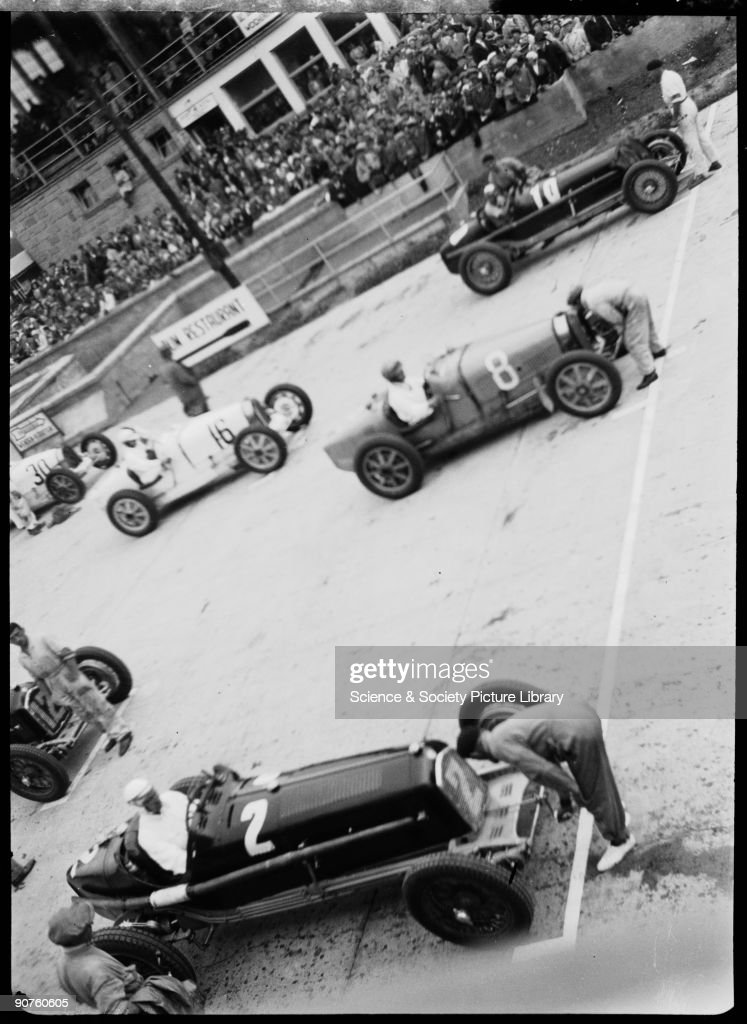 Racing Cars On The Starting Grid Nurburgring Germany 1932 News Photo