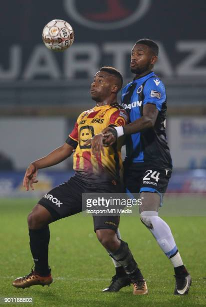 20171220 Mechelen Belgium / Kv Mechelen v Club Brugge / nAndy KAWAYA Stefano DENSWILnFootball Jupiler Pro League 2017 2018 Matchday 20 / nPicture by...