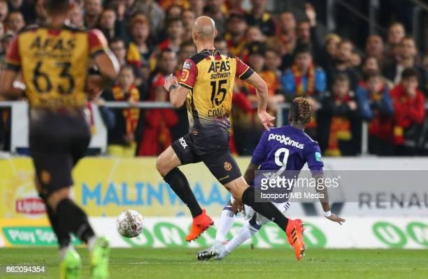 20171013 Mechelen Belgium / Kv Mechelen v Rsc Anderlecht / 'nHenry ONYEKURU Goal'nFootball Jupiler Pro League 2017 2018 Matchday 10 / 'nPicture by...