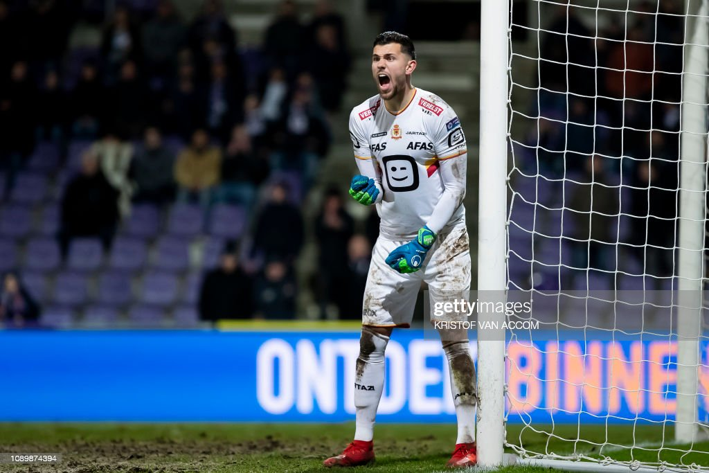 SOCCER 1B D23 BEERSCHOT WILRIJK VS KV MECHELEN : News Photo