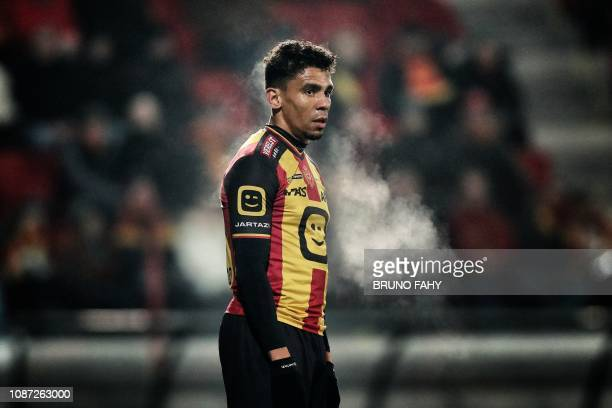 Mechelen's Igor de Camargo pictured during a soccer game between KV Mechelen and Royale Union Saint Gilloise Wednesday 23 January 2019 in Mechelen...
