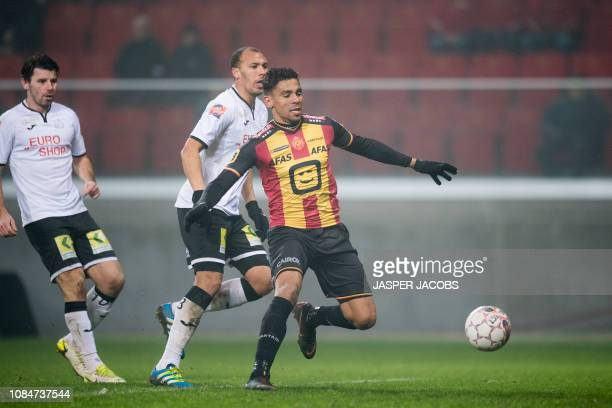 Mechelen's Igor de Camargo pictured in action during a soccer game between KV Mechelen and Roeselare Friday 18 January 2019 in Mechelen on the 22nd...