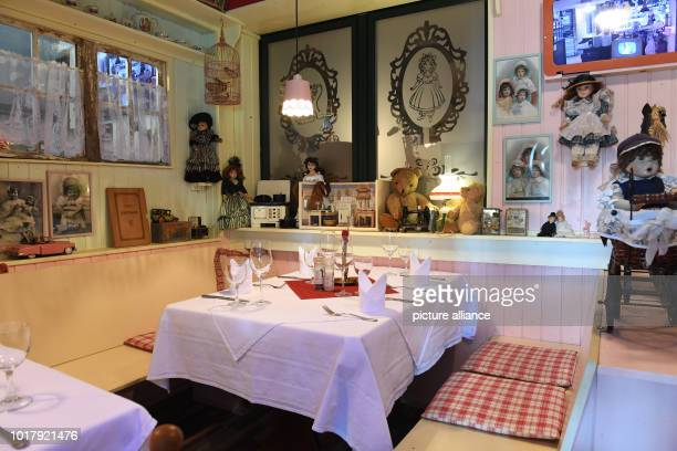 The restaurant 'Oma's Küche' The restaurant does not allow guests with children under the age of 14 to enter from 5 pm onwards Photo Stefan Sauer/dpa
