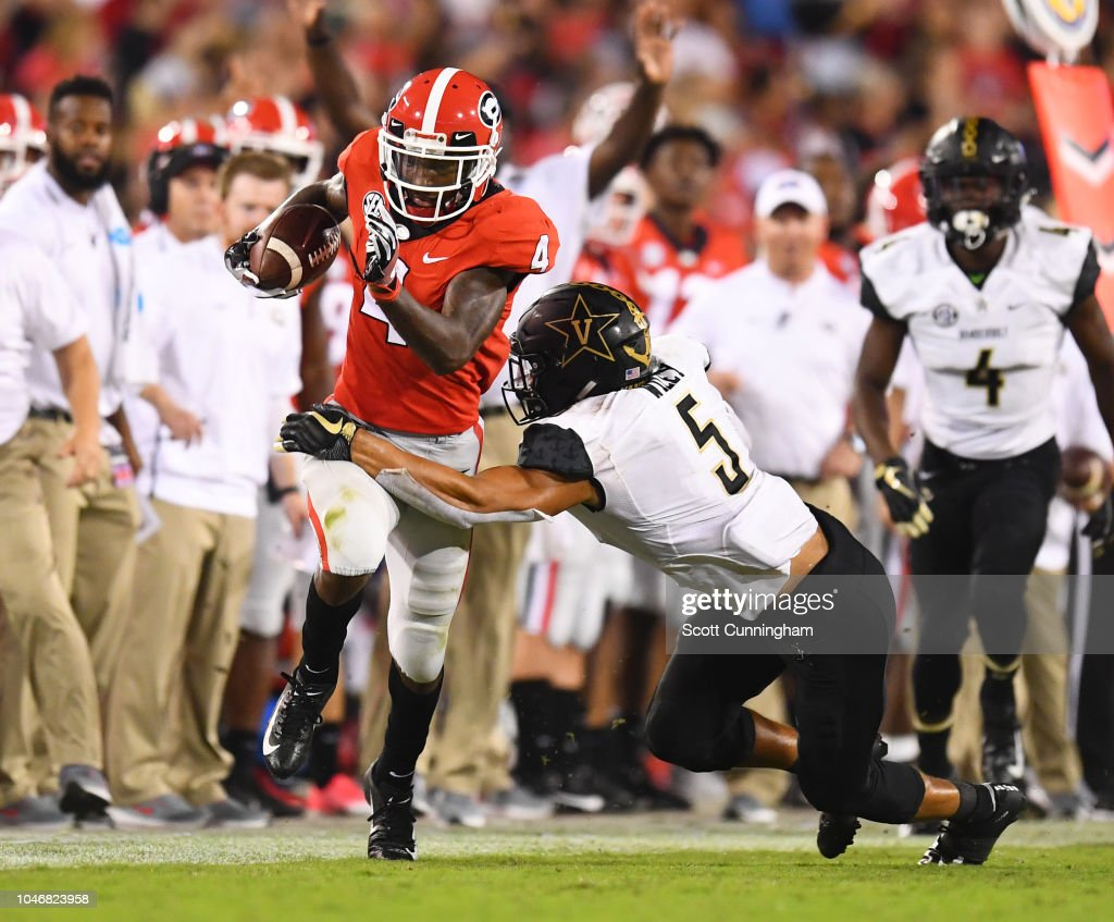 Vanderbilt v Georgia : News Photo