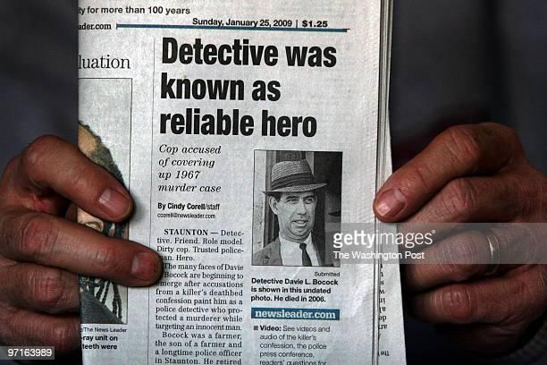 February 12 2009 CREDIT Carol Guzy/ The Washington Post Staunton VA Laverne Sowers has put together a scrapbook of her daughter Constance Smootz...