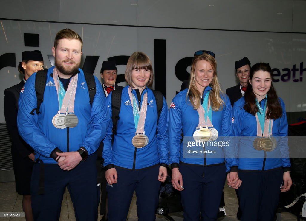 ParalympicsGB Homecoming from the PyeongChang 2018 Paralympic Winter Games