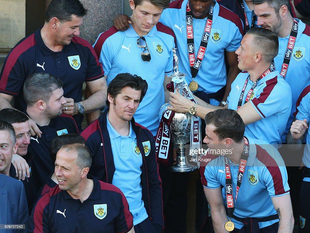 Burnley Sky Bet Champions Winners Bus Parade : News Photo