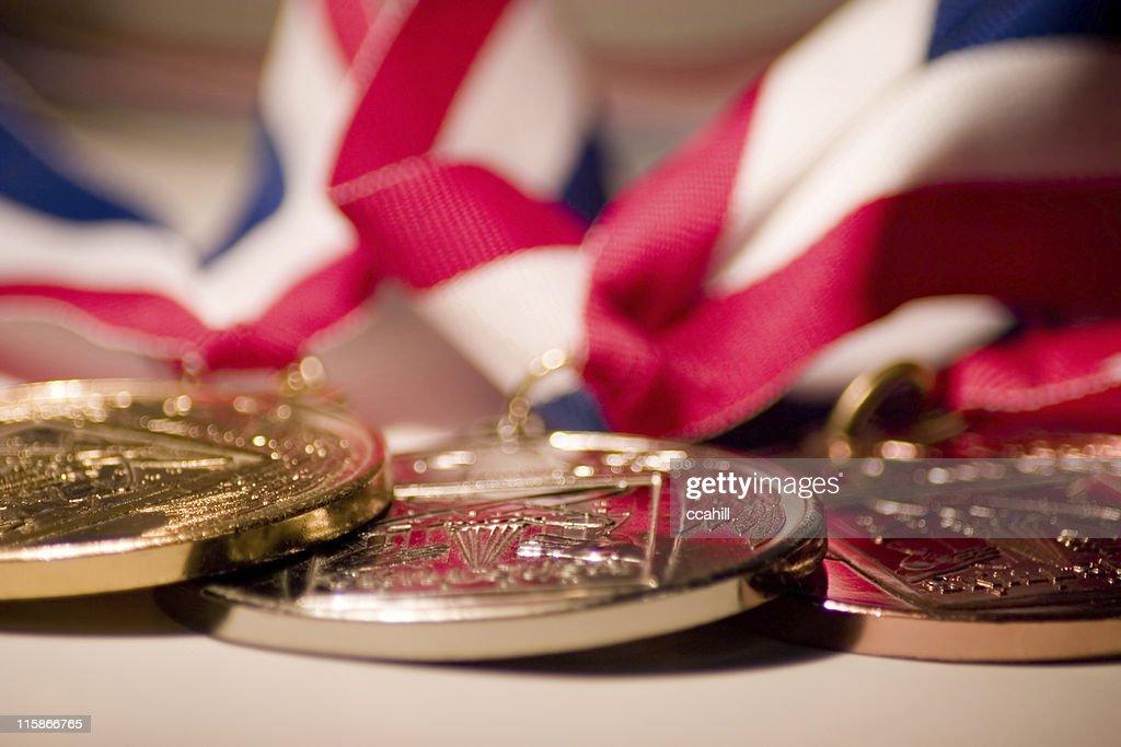 Membros Medallions : Foto de stock