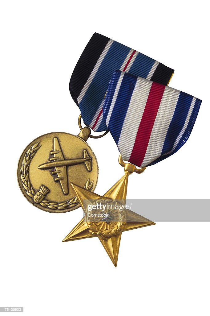 Medals for military service : Stockfoto