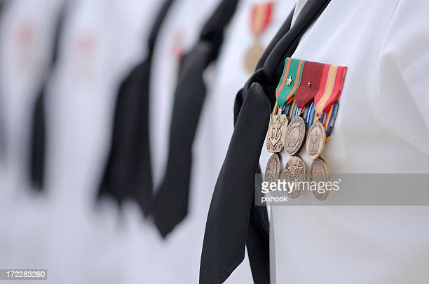 medals - navy stock pictures, royalty-free photos & images