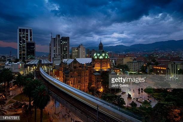 medellin, colombia - medellin colombia stock pictures, royalty-free photos & images