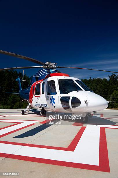 medevac helicopter - medevac stock photos and pictures