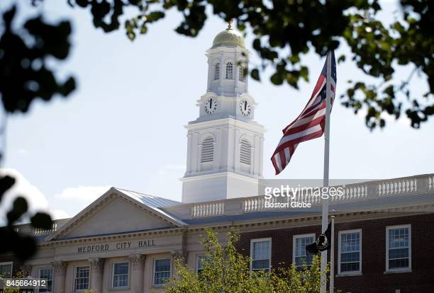 Medford City Hall in Medford MA is pictured on Aug 31 2017