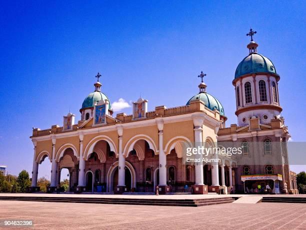 medhane alem cathedral, addis ababa, ethiopia - addis ababa stock pictures, royalty-free photos & images