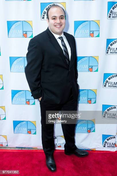Medhat Hanbali attends the 9th Annual New Media Film Festival at James Bridges Theater on June 16 2018 in Los Angeles California