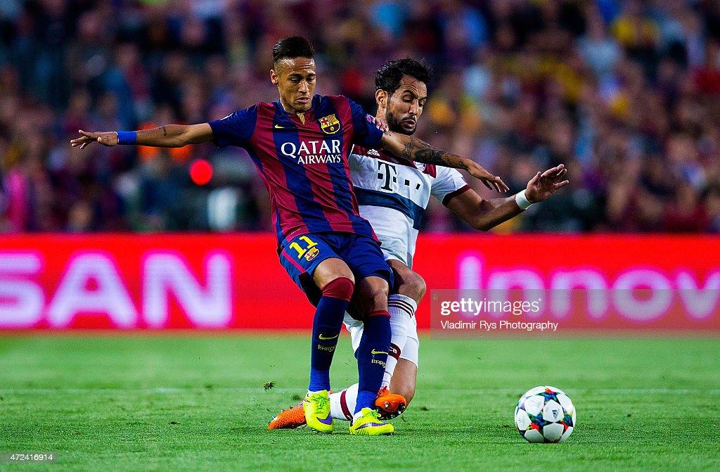 FC Barcelona v FC Bayern Muenchen - UEFA Champions League Semi Final : News Photo