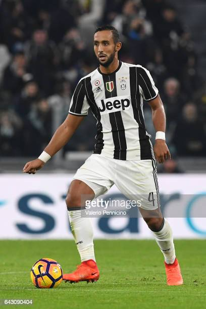 Medhi Benatia of Juventus FC in action during the Serie A match between Juventus FC and US Citta di Palermo at Juventus Stadium on February 17 2017...