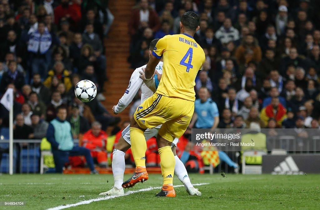Real Madrid v Juventus - UEFA Champions League Quarter Final Leg Two : News Photo