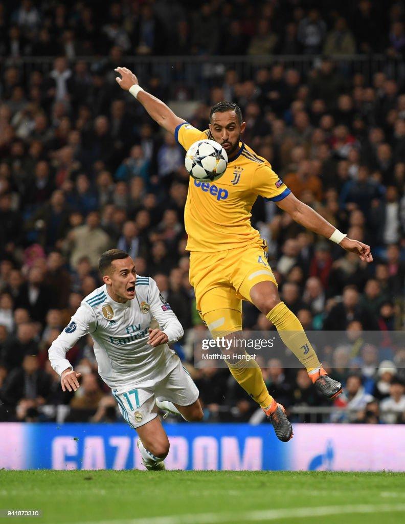 Real Madrid v Juventus - UEFA Champions League Quarter Final Second Leg : News Photo