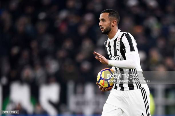 Medhi Benatia of Juventus in action during the Serie A match between Juventus and FC Internazionale on December 9 2017 in Turin Italy