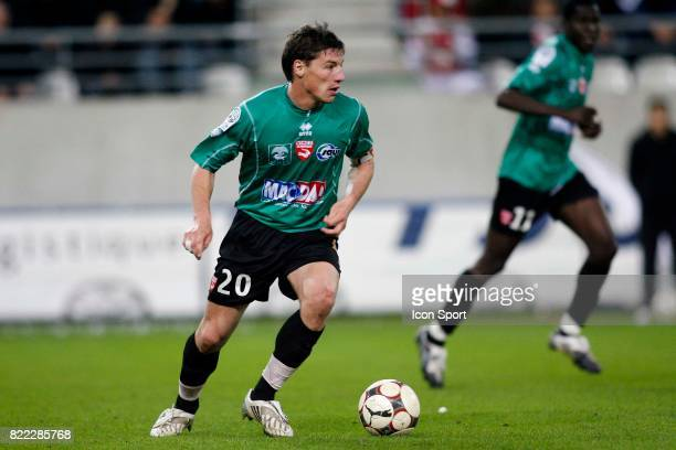 Medhi MOSTEFA Reims / Nimes 32eme journee de Ligue 2 Stade Auguste Delaune Reims