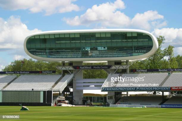 Media centre at Lords Cricket Ground London United Kingdom
