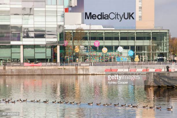Media City at Salford Quays, Manchester, UK, the home of the BBC in the north.
