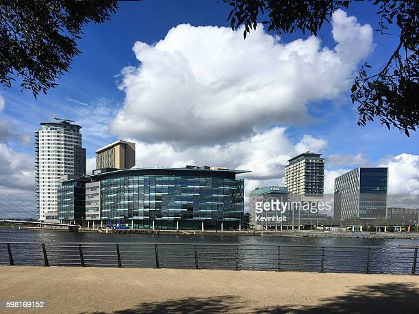 media city,salford greater manchester. - greater manchester stock pictures, royalty-free photos & images