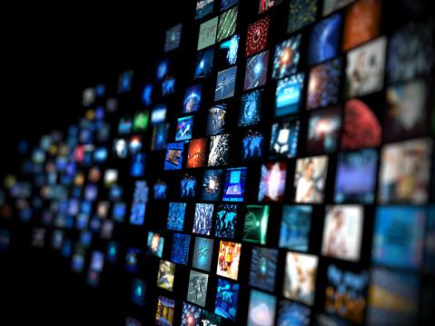 Media concept smart TV 506220646