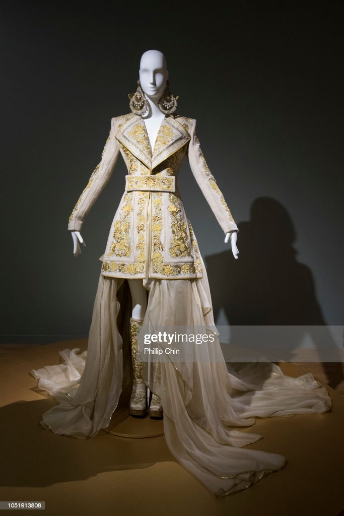 the vancouver art gallery presents guo pei couture beyond media preview news photo