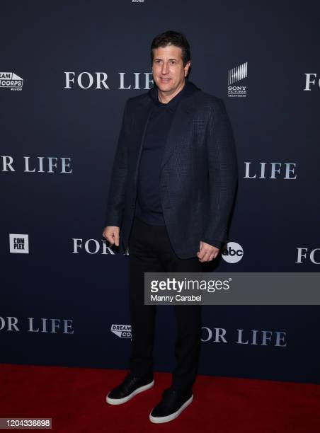 Media Executive and Producer Doug Robinson attends ABC's For Life New York premiere at Alice Tully Hall Lincoln Center on February 05 2020 in New...