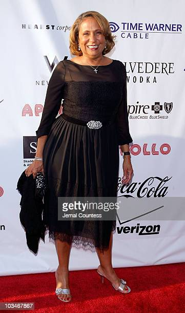 Media Executive Cathy Hughes attends the 4th Annual Apollo Hall Of Fame Induction Ceremony at the Apollo theatre on June 2 2008 in Harlem NY