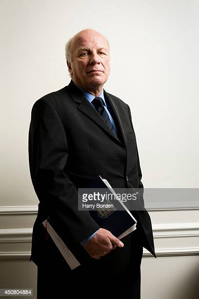 Media executive journalist and broadcaster and is currently chairman of The Football AssociationGreg Dyke is photographed for Management Today on...
