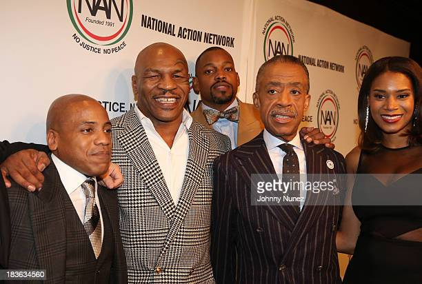 Media executive Kedar Massenburg honoree and former boxing world champion Mike Tyson guest President and Founder of the National Action Network...