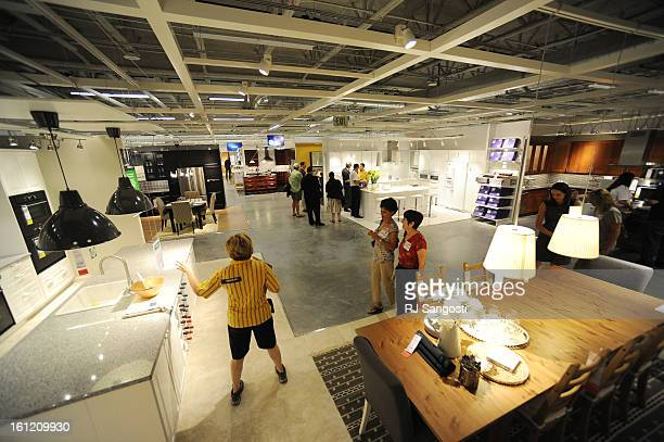 Media got a sneak peak at the inside of Colorado's first Ikea store in Centennial Wednesday July 20 2011 The store with open July 27 to the public RJ...