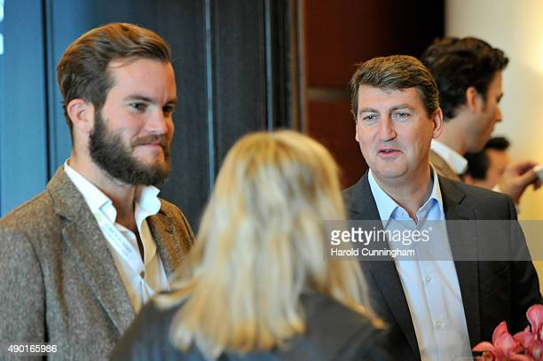 Media guests enjoy the IWC Schaffhausen Media Breakfast held as part of the 11th Zurich Film Festival at the Dolder Grand Hotel on September 26 2015...