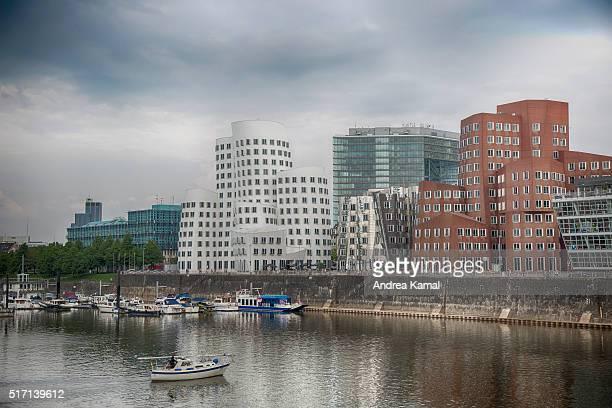 Media harbor, Duesseldorf, Germany